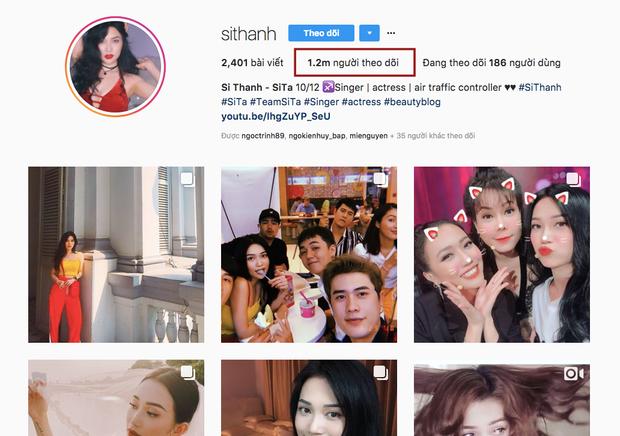 """Không chỉ chăm chỉ tương tác, việc Sĩ Thanh """"chăm chút"""" từng bức ảnh """"sống ảo"""" trên Instagram như chỉnh filter, chọn màu ảnh máy film đang hot… cũng là lý do giúp cô trở thành ca sĩ """"gây sốt"""" với 1,2 triệu fan trên mạng xã hội này."""