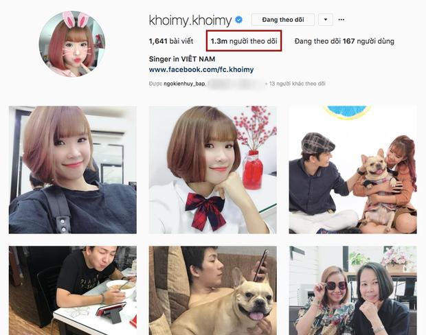 …và con số 1,3 triệu người theo dõi trên Instagram.