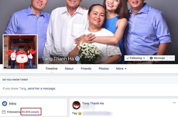 Chỉ sở hữu vẻn vẹn hơn 65 nghìn người theo dõi trên Facebook chính chủ,…