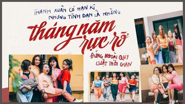 Huyền, Xuân, Nhung, Diệp, Giang đều là sinh viên năm cuối một trường đại học ở Hà Nội.