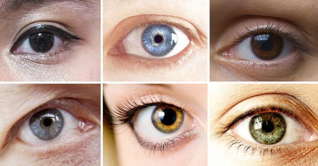 Mỗi một con mắt là duy nhất.
