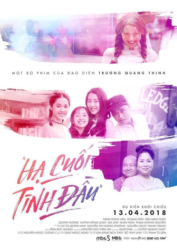 Quỳnh Hương lần 2 chạm ngõ điện ảnh với vai chính trong phim Hạ cuối tình đầu.