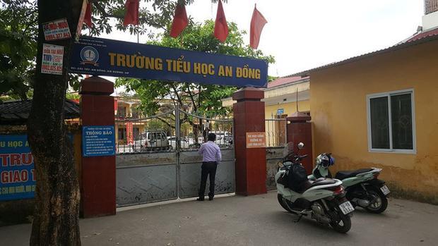 Trường tiểu học An Đồng. Ảnh Dân Trí