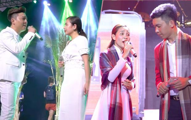 Thành viên team Quang Lê: Bá Huy - Thuý Anh, Thanh Lan - Đức Trường tập luyện ráo riết trước thềm liveshow Thần tượng Bolero.