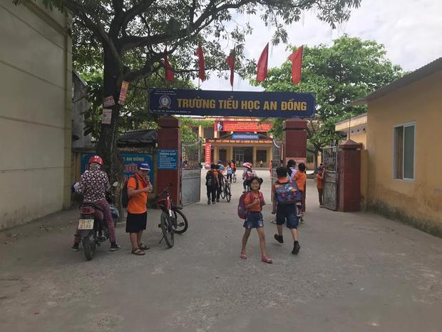 Trường tiểu học An Đồng nơi xảy ra sự việc.