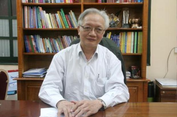 TS. Nguyễn Tùng Lâm (Hiệu trưởng trường THPT Đinh Tiên Hoàng - Chủ tịch Hội Tâm lý Giáo dục Hà Nội).