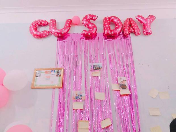 Con gái lớp người ta: Tổ chức tiệc hoành tráng, ngập tràn màu hồng dành cho hội phụ nam 6/4