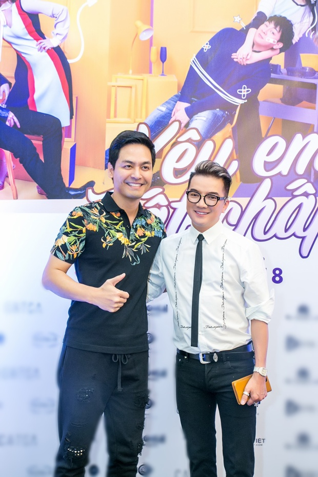 MC Phan Anh và Mr. Đàm.