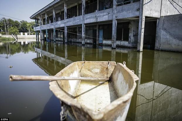 Các nhà khoa học môi trường tính toán rằng, trong 10 năm tới, 4 triệu cư dân ở Jakarta sẽ phải chịu ảnh hưởng càng nghiêm trọng hơn bây giờ.