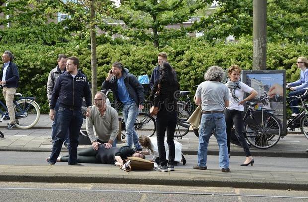 Bạn có thể chết vì bị xe đạp đâm ở Hà Lan. Ảnh minh họa