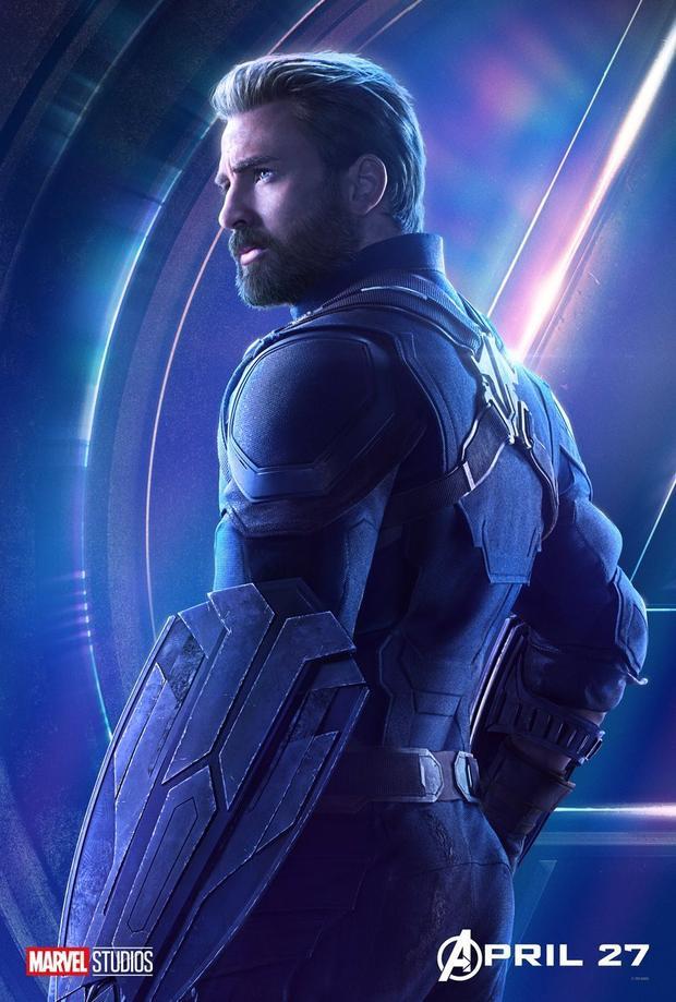 Captain America… khoe vòng 3.