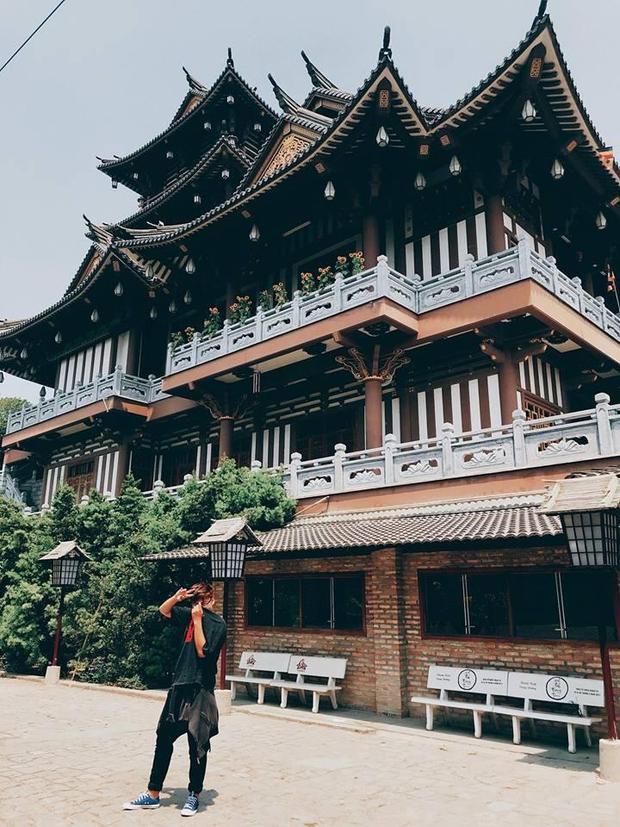 Tu viện Khánh An được mệnh danh là Tiểu Tokyo. Ảnh: Vũ Ngọc Duy.
