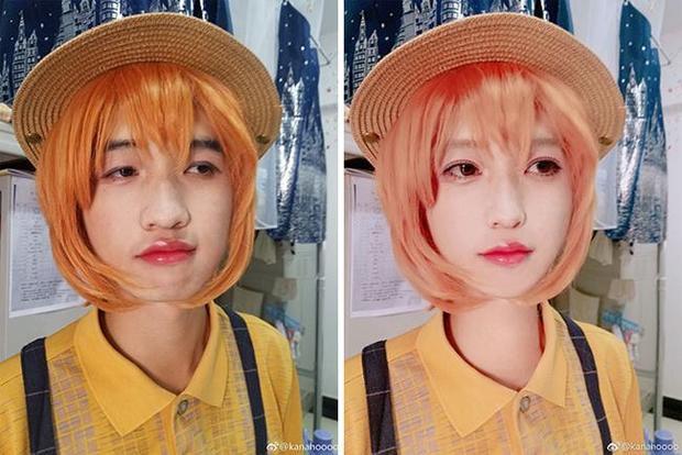 Không chỉ khiến gương mặt đẹp lên, mà Photoshop còn có khả năng biến… con trai thành con gái