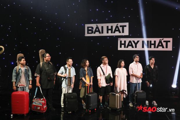 6 gương mặt tiêu biểu team HLV Lê Minh Sơn: Dư Quốc Vương, Trương Phước Lộc, Dật Hanh, Khánh Ly, Lộn xộn Band, Phạm Hoàng Duy.