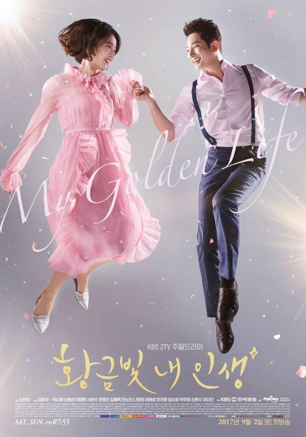 """Cùng với đó là """"My Golden Life"""" cũng được KBS ưu ái cử đi tạo nên cục diện song kiếm hợp bích đầy ngoạn mục."""