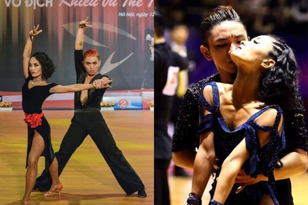 Bảo Duy từng là vận động viên khiêu vũ thể thao trước khi chuyển hướng sang ca hát.