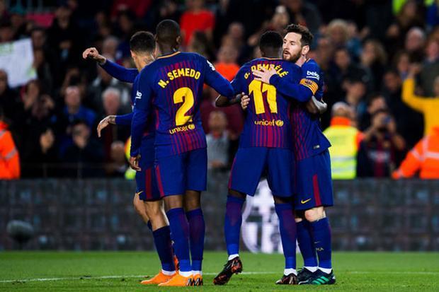 Barca có cơ hội vô địch sớm trước 3 vòng đấu.