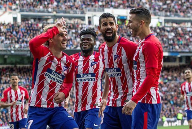 """Atletico buộc Real phải """"cưa điểm"""" ngay tại Bernabeu."""