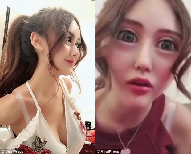 Cammy cũng nói thêm rằng cô là một fan hâm mộ cuồng nhiệt của anh chàng mặt rắn nổi tiếng tại Trung Quốc và muốn có được ngoại hình như vậy.Ảnh: ViralPress