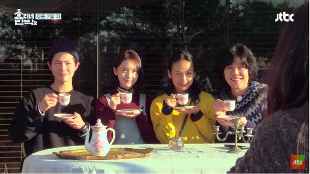 Hình ảnh vui vẻ bên nhau trước khi chia tay Bo Gum của các thành viên Hyori's Bed and Breakfast 2.