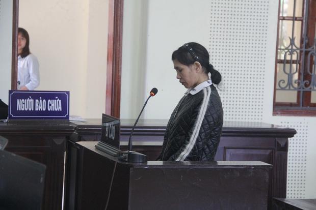 Bị cáo Thanh tại phiên tòa