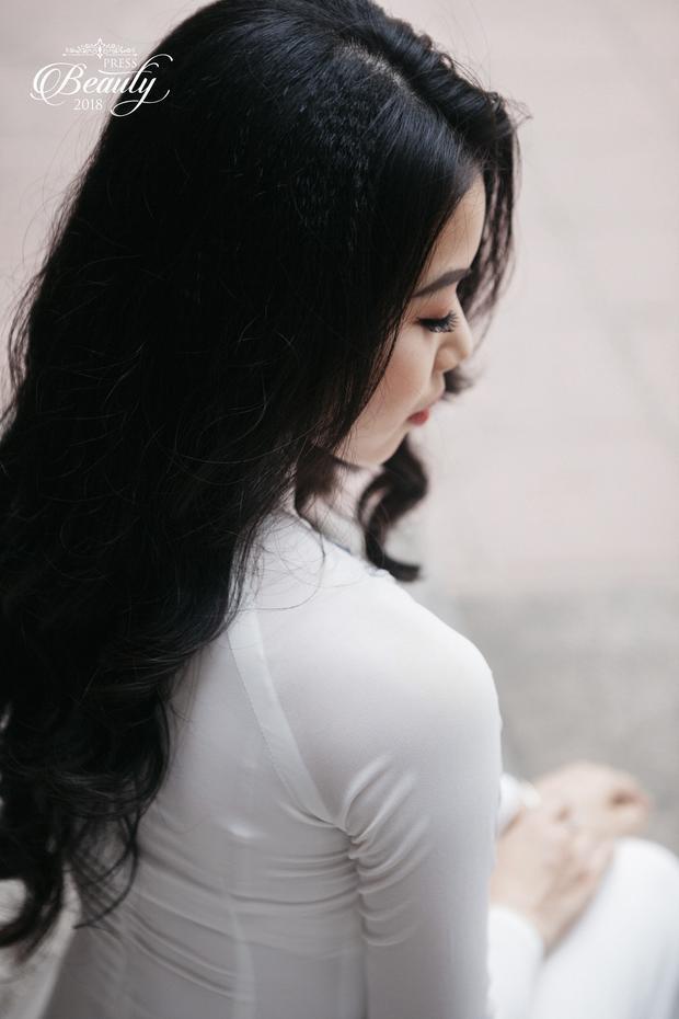 Mái tóc đen, dài, bồng bềnh của Huyền đã gây thương nhớ cho biết bao người. Đến với cuộc thi, Huyền cho biết cô được bạn bè, gia đình ủng hộ hết mình. Chính vì thế, giai đoạn này, cô nàng khá thoải mái về tâm lí.