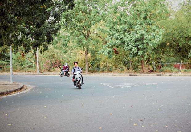 …phóng nhanh vượt ẩu là tình trạng thường thấy tại khu vực Làng Đại học.