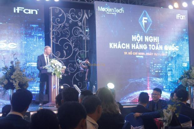 """Một buổi sự kiện ICO """"hoành tráng"""" của Modern Tech và iFan"""