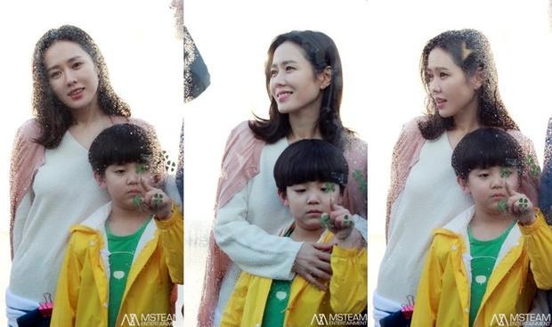 """Son Ye Jin và cậu con trai bé nhỏ trong """"Be With You""""."""