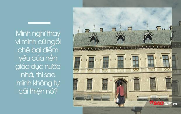 Chuyện nữ du học sinh bỏ giấc mơ trời Tây về nước vì muốn suốt đời được học cùng sinh viên