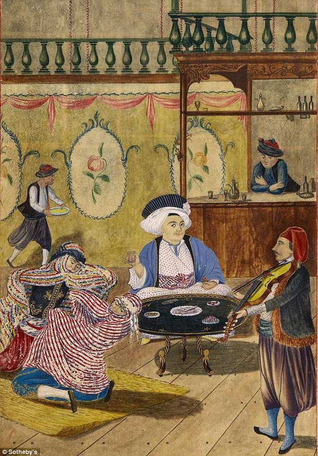 Khăn turban trắng hoặc xanh là dấu hiệu của một người quyền cao chức trọng và vô cùng giàu có.
