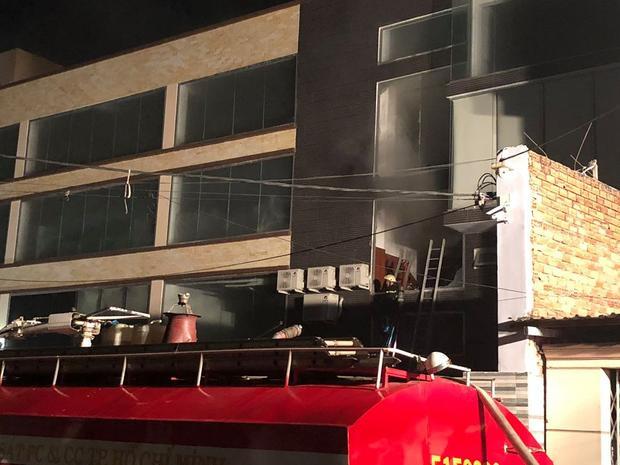 Một số người dân cho biết,nhà xưởng xảy ra cháy là của công ty Bánh Kẹo Á Châu (ABC) vừa mới xây dựng chưa đưa vào hoạt động.
