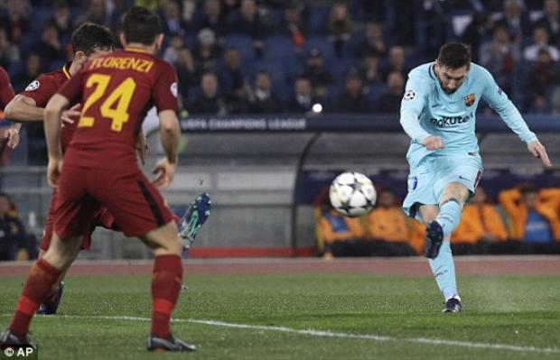 Messi bất ngờ lu mờ đến khó tin.