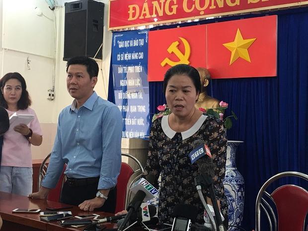 Cô Võ Thị Thanh Loan - hiệu trưởng trường mầm non 30/4.