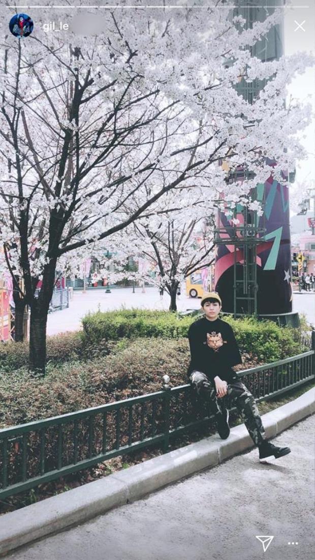 Hình ảnh khiến fan nghi ngờ Chi Pu - Gil Lê hội ngộ tại Hàn Quốc.