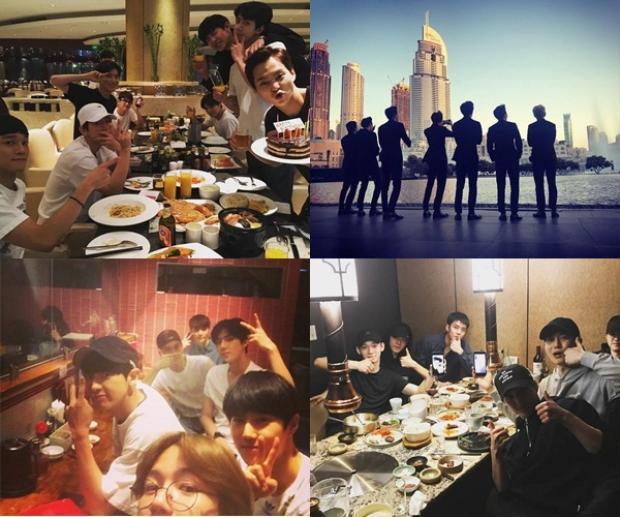 Sehun là thành viên đăng tải ảnh nhóm nhiều nhất trên instagram cá nhân của mình.