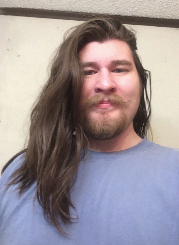 Đây là Jeffrey khi chưa giảm cân. Ảnh: BoredPanda