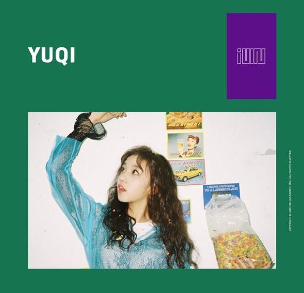 Yuqi thành viên đến từ Trung Quốc.