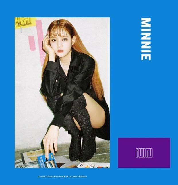 Minnie là thành viên đến từ Thái Lan và từng xuất hiện trong Pentagon Maker.