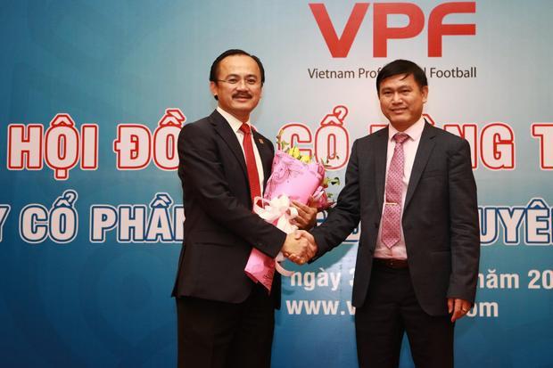 Ông Vũ Mạnh Hải cho rằng bầu Tú không nên vừa làm Chủ tịch VPF lẫn phó Chủ tịch VFF.