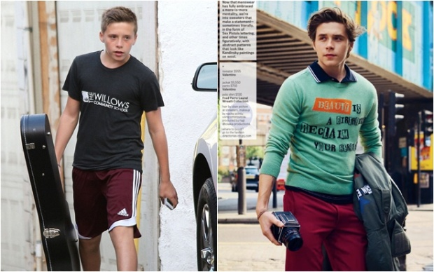 Cậu cả nhà Becks nay đã 19 tuổi và ra dáng một thanh niên chững chạc với vẻ ngoài điển trai, sành điệu. Hiện Brooklyn đang tạm sống xa gia đình để theo đuổi đam mê nhiếp ảnh.