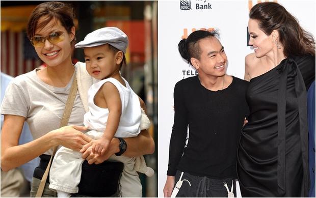 Cậu bé gốc Campuchia được Angelina cùng người chồng đầu tiên nhận nuôi đã trưởng thành và rất thân thiết với cô. Maddox có ước mơ làm việc trong ngành công nghiệp điện ảnh và đã tham gia vào khá nhiều dự án của mẹ.