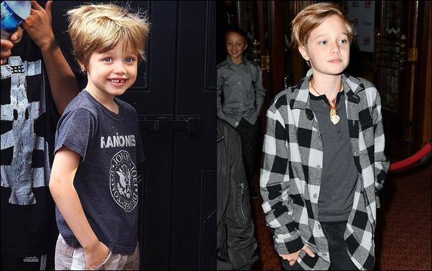 Cô con gái lớn của nhà Jolie - Pitt từ nhỏ đã có sở thích ăn mặc cá tính và cho đến hiện tại vẫn trung thành với phong cách này. Được bố mẹ cho tự do phát triển, Shiloh thậm chí thổ lộ mong muốn mọi người công nhận mình là một cậu bé.