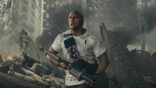 Sự trở lại của The Rock trong bom tấn mới Rampage