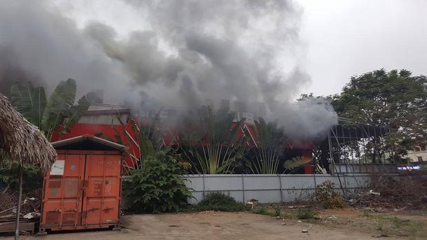 Nguyên nhân hỏa hoạn nghi là do chập điện.