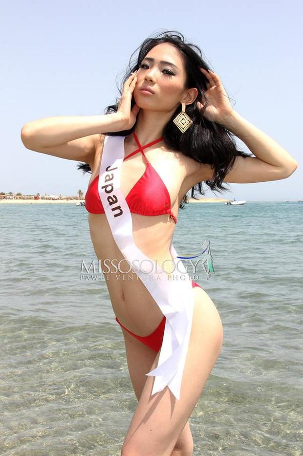 Đại diện đến từ đất nước mặt trời mọc Nhật Bản.