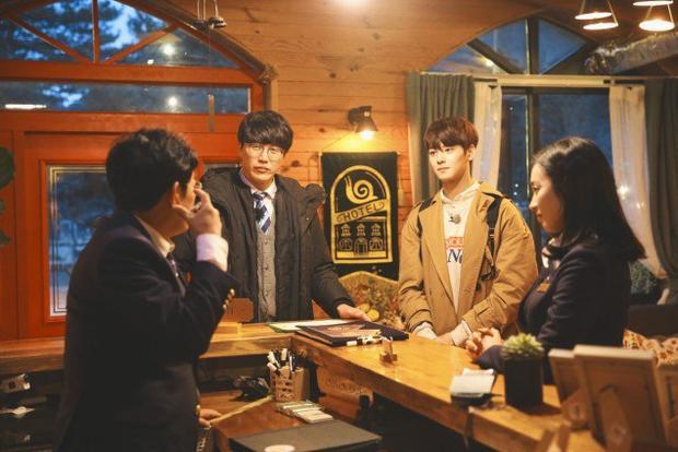 Lee Kyung Kyu, Sung Si Kyung và Kim Min Jung sẽ là những nhân viên của Snail Hotel.