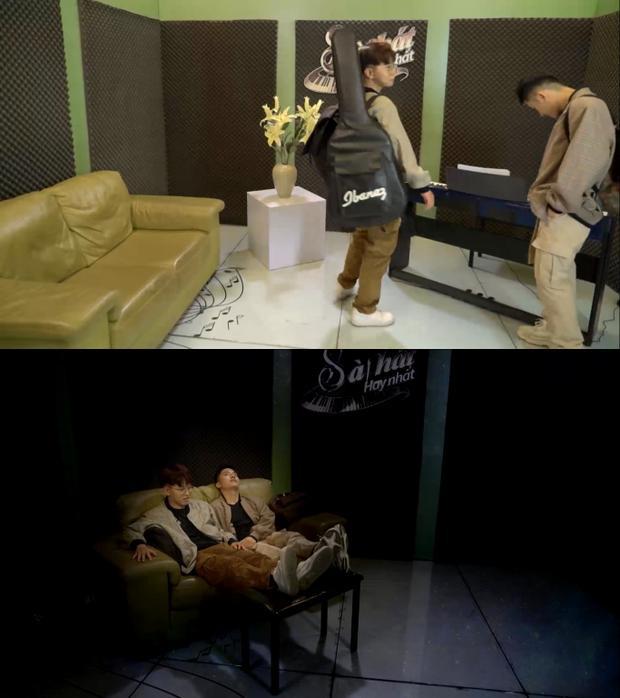 """Căn phòng của cặp đôi """"rắc rối"""" trước và sau khi được thiết kế lại nội thất."""