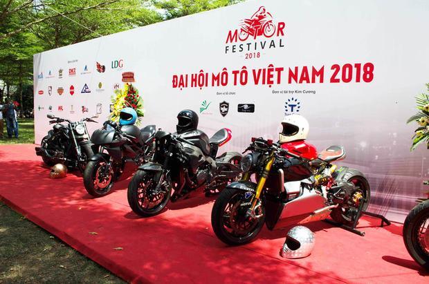 Được biết, Đại hội Môtô Việt Nam 2018 diễn ra trong hai ngày từ 14 đến 15 tháng 4 với nhiều hoạt động như giao lưu, chia sẻ, từ thiện và trình diễn.