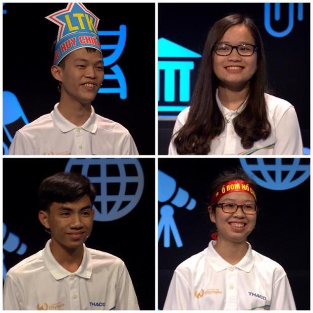 4 thí sinh tranh tài trong trận đấu